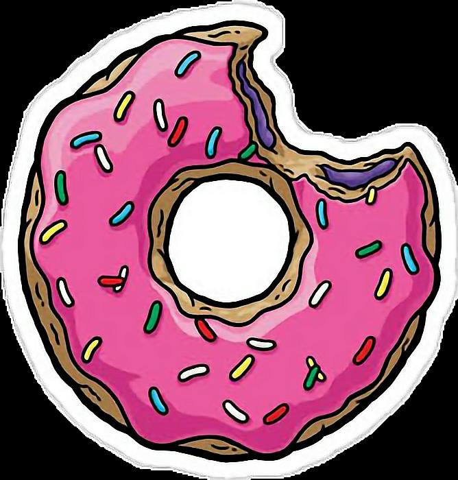 Donat donuts like snapchat. Doughnut clipart emoji