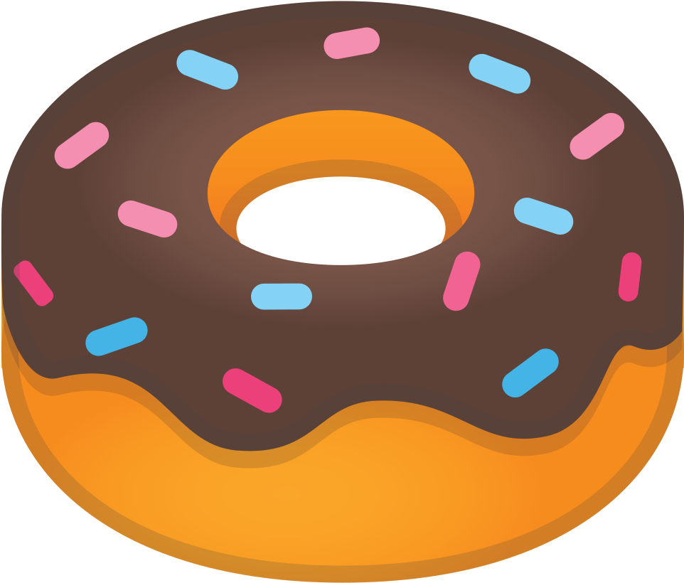 Doughnut clipart food. Icon noto drink iconset