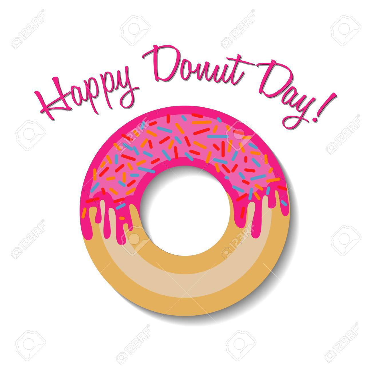 Doughnut clipart happy donut. X free clip art