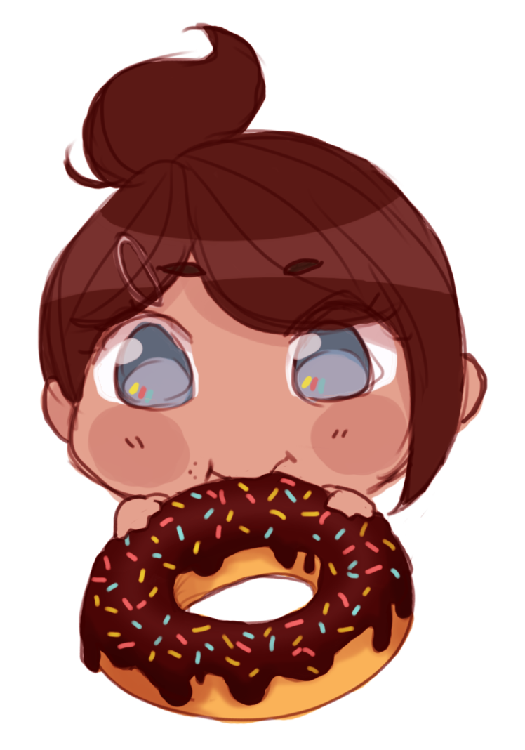 Day by bunniebabe on. Doughnut clipart happy donut