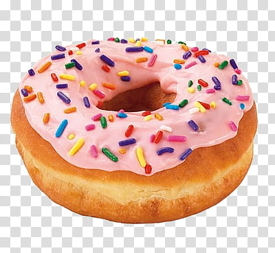 Donuts s with sprinkles. Doughnut clipart orange donut