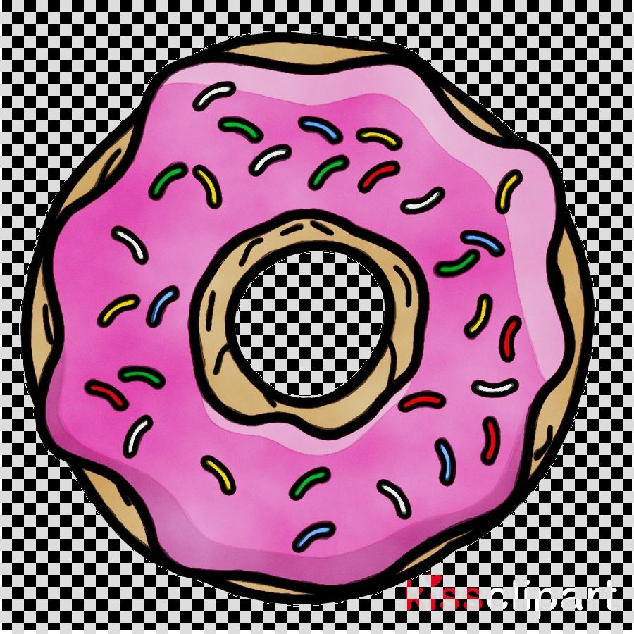 Doughnut clipart pastry. Pink clip art auto