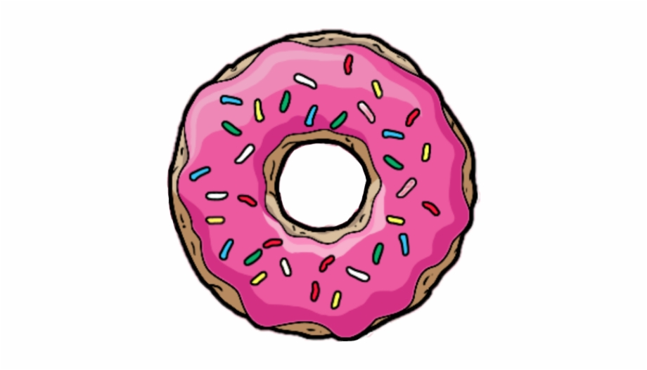 Tumblr jessewilliams transparent background. Doughnut clipart small donut
