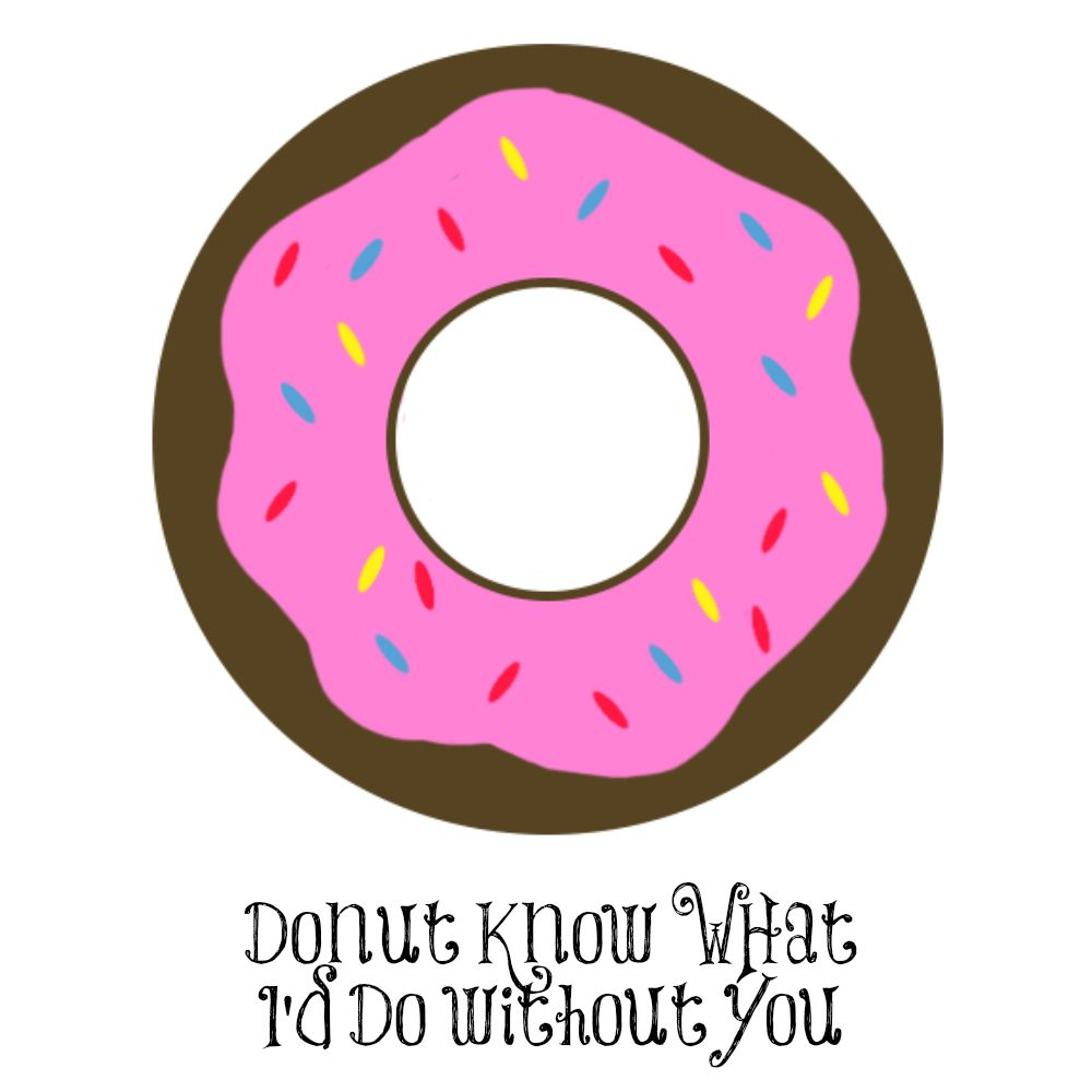 Doughnut clipart valentine. Valentines donut cookies with