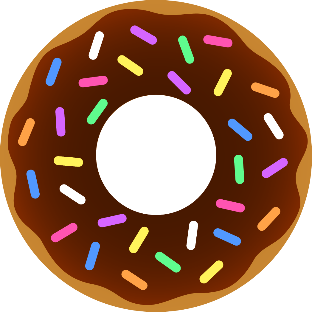 Words doughnut