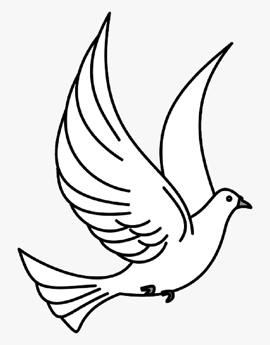 Bird clipart dove. Free collection clip art