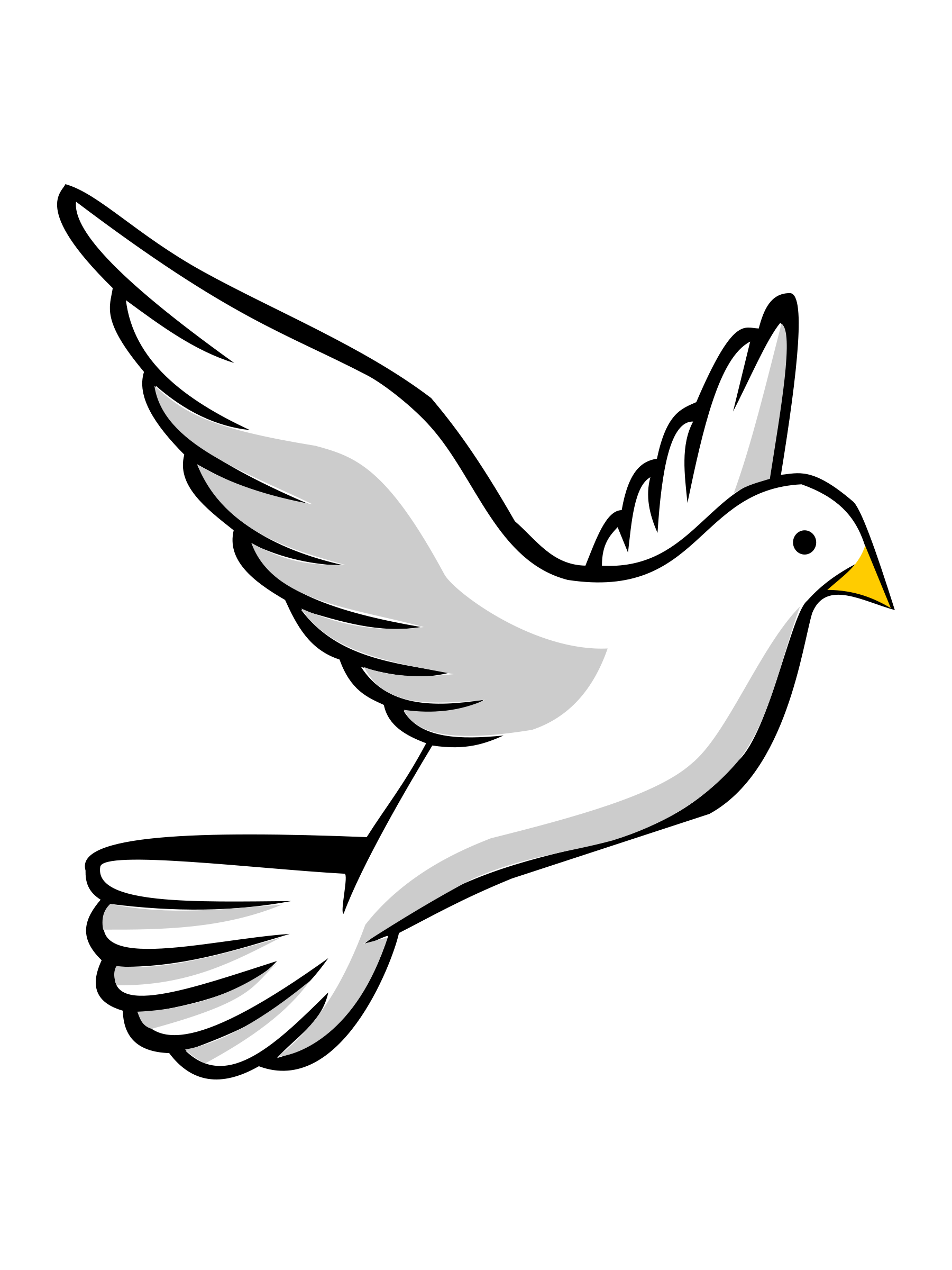 Peace clipart acknowledgement. Religious dove clip art