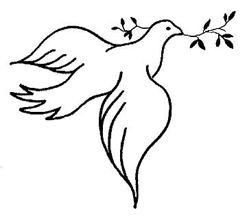 free catholic clipartlook. Doves clipart advent