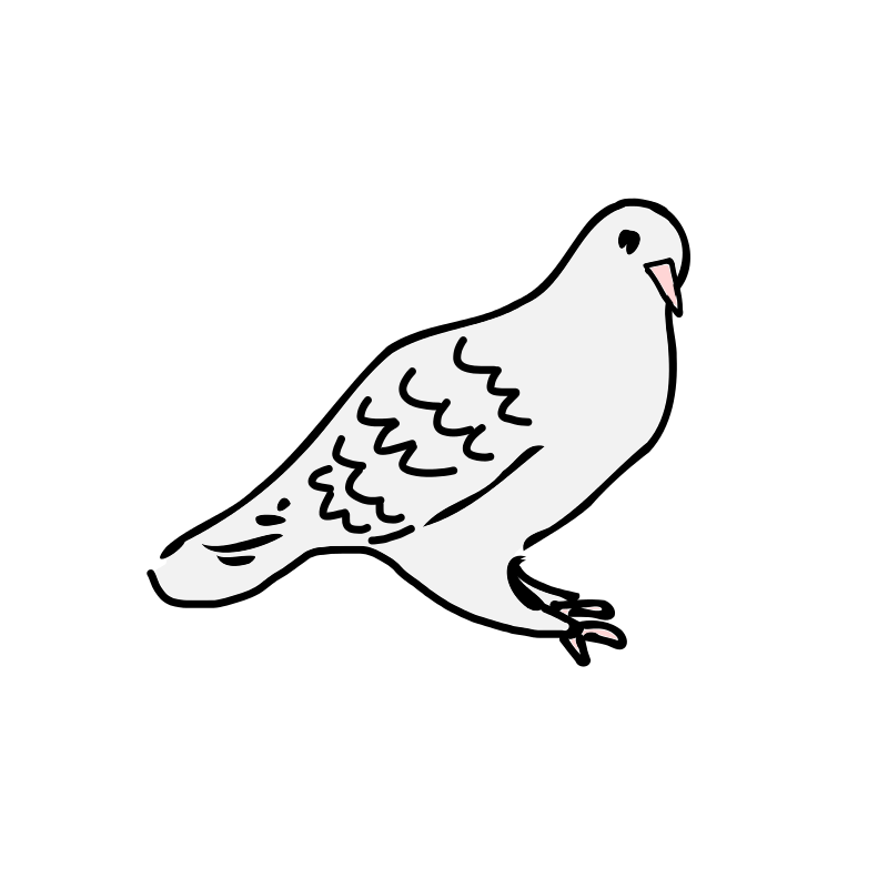Dove clipart black and white. Free download best on