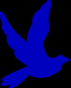 Doves clipart blue. Dove clip art at
