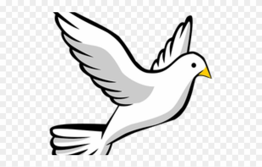 Doves clipart advent. Peace dove catholic flying