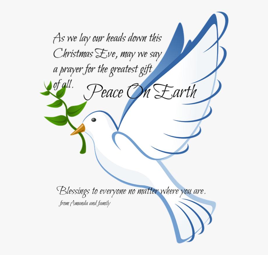 Peace clipart church. Dove christmas batak christian