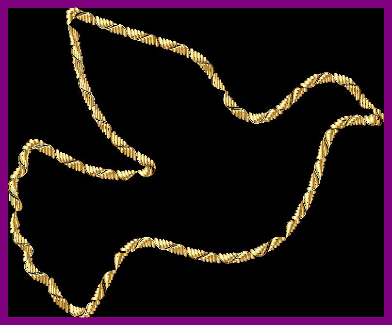 Stunning christian symbols clip. Dove clipart colorful