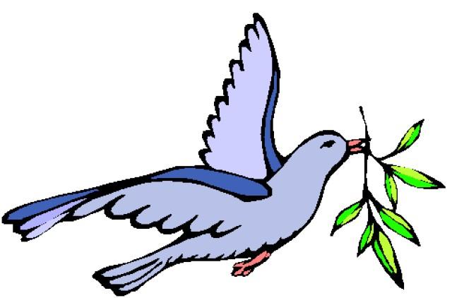 Dove clipart colorful. Easter color clip art