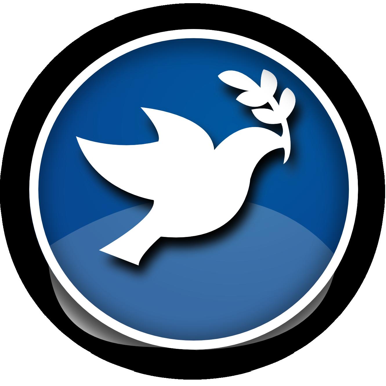 Peace on earth pencil. Dove clipart day