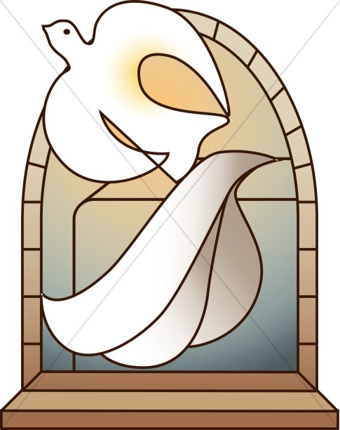 Dove clipart easter.