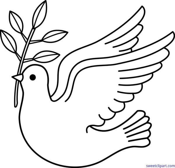 Dove clipart easy. Peace peanuts free on