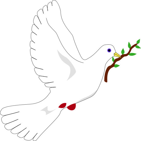 Free picture of with. Dove clipart easy