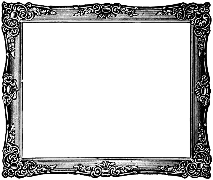 Frames clipart silver. Transparent picture frame gorgeous