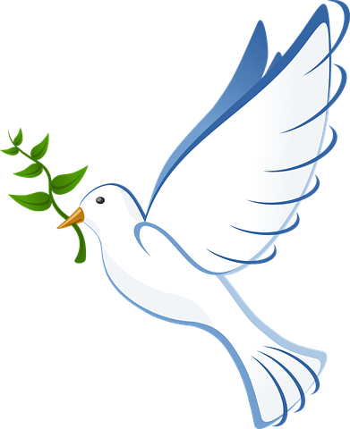 Doves clipart freedom. Dove peace flying some