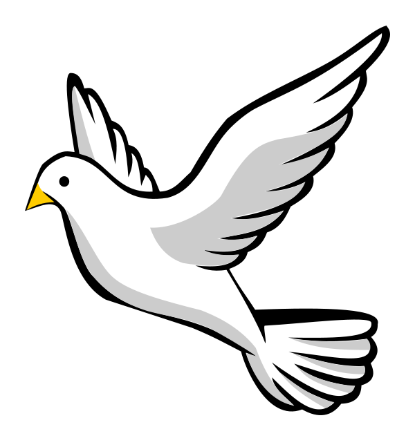 Bangus cliparthot of flight. Funeral clipart dove