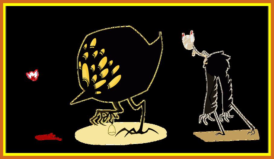 Amazing punishment bird tumblr. Peace clipart funeral program