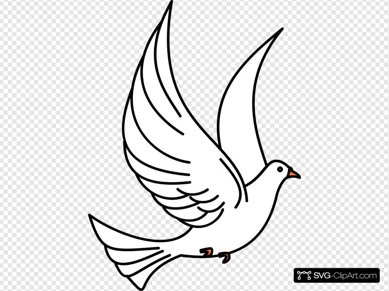 Flying dove clip art. Doves clipart jean