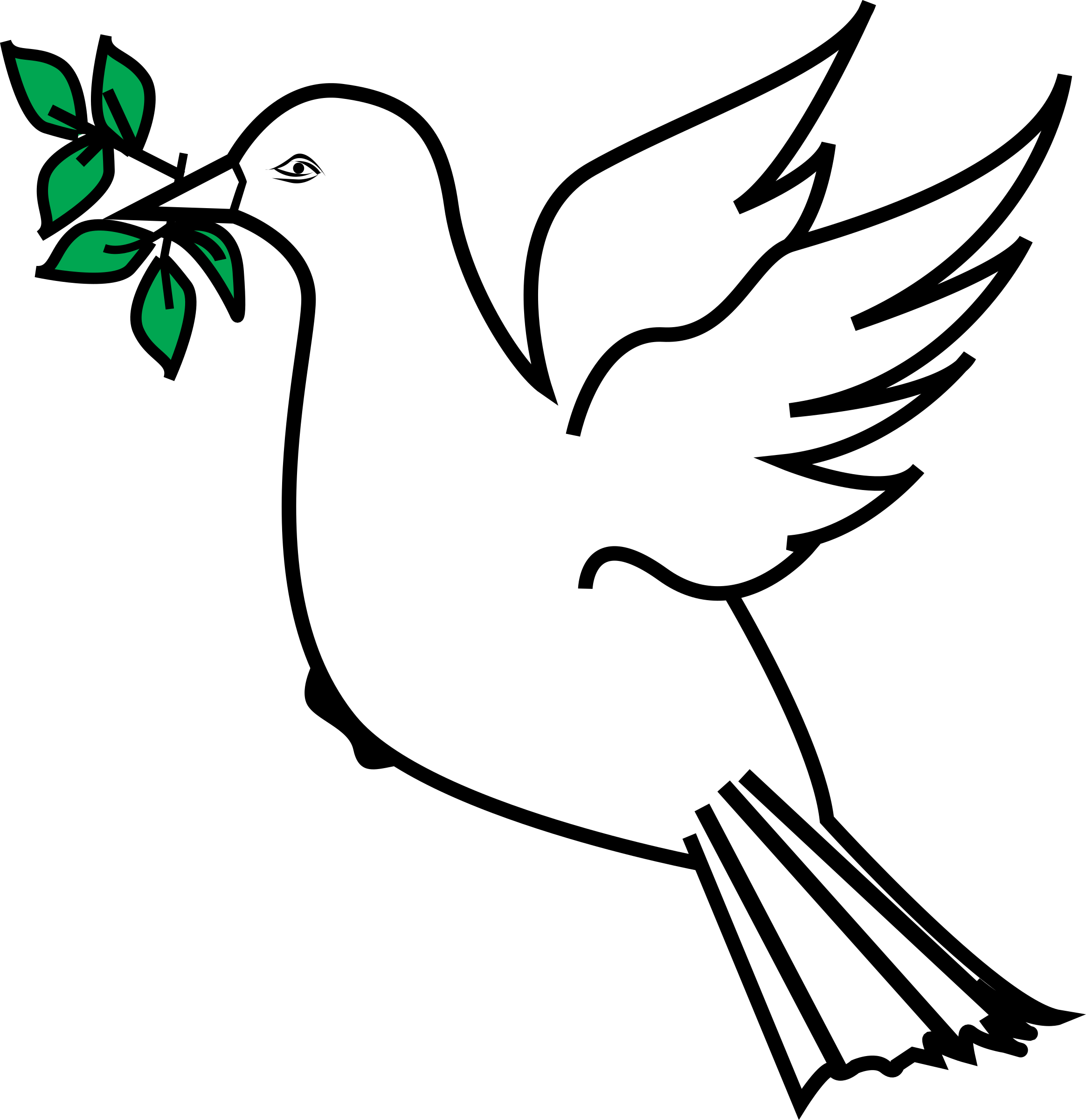 Doves clipart jean. Dove and olive branch