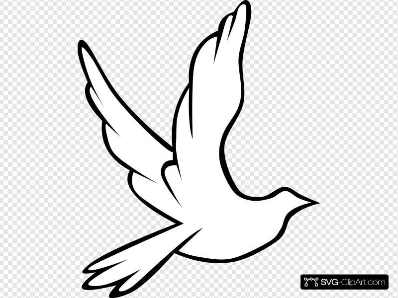 Doves clipart jean. Flying dove clip art