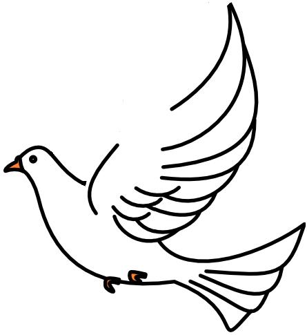 Doves clipart kid. Flying clipartbarn