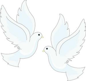 Two doves clipartbarn . Dove clipart kid