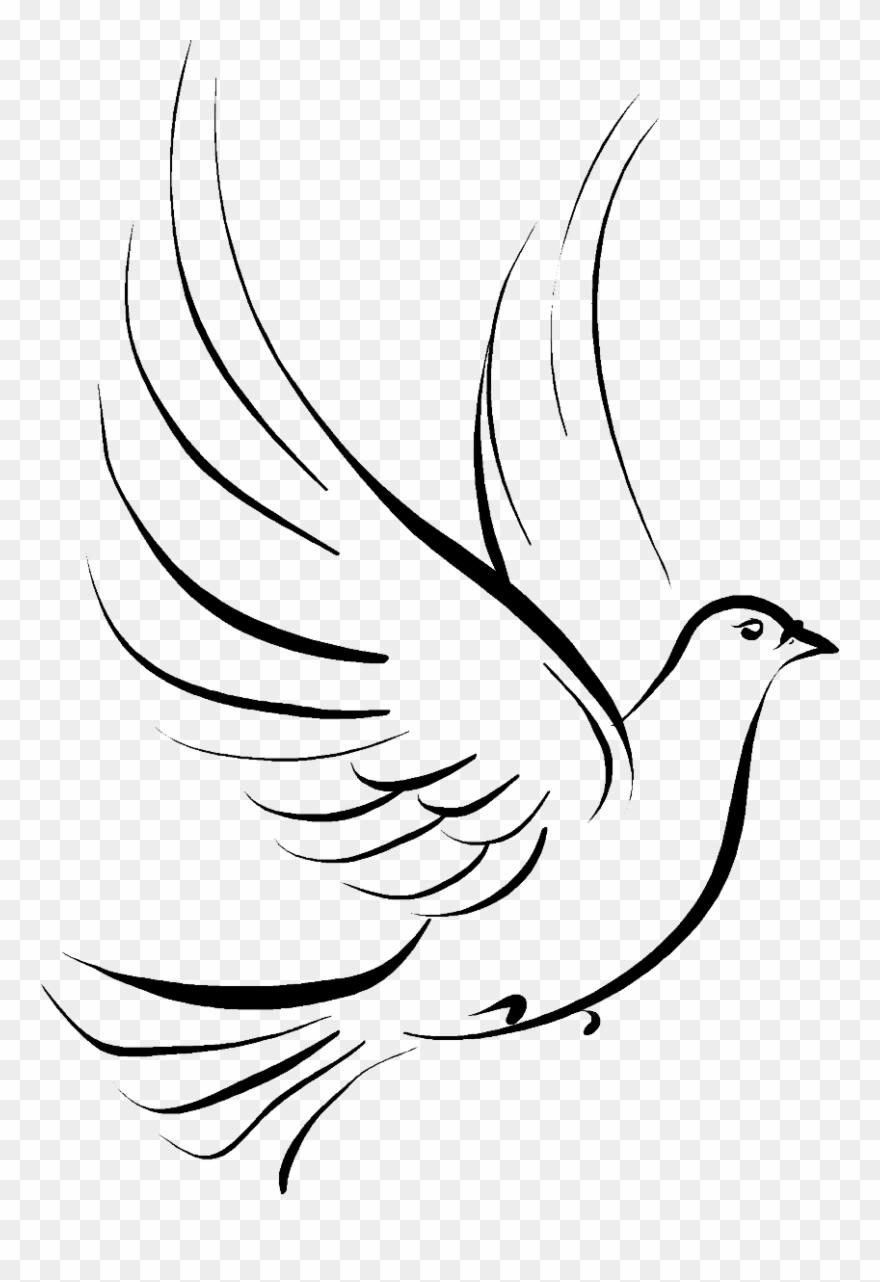 Dove funeral clip art. Doves clipart transparent background