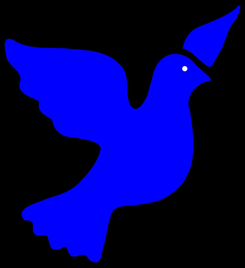Doves clipart open wing. Public domain clip art