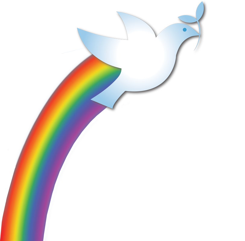 Doves rainbow