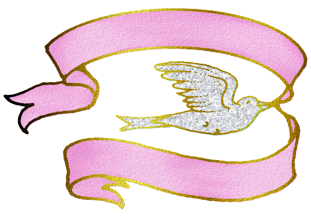 collection of dove. Doves clipart pink
