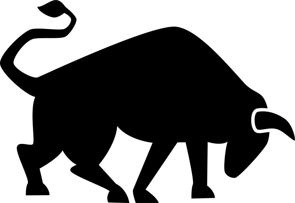 Strong bull svg png. Dove clipart side view