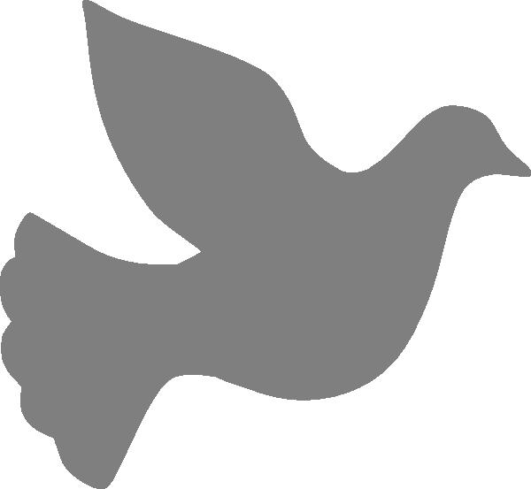 Grey love clip art. Dove clipart small dove