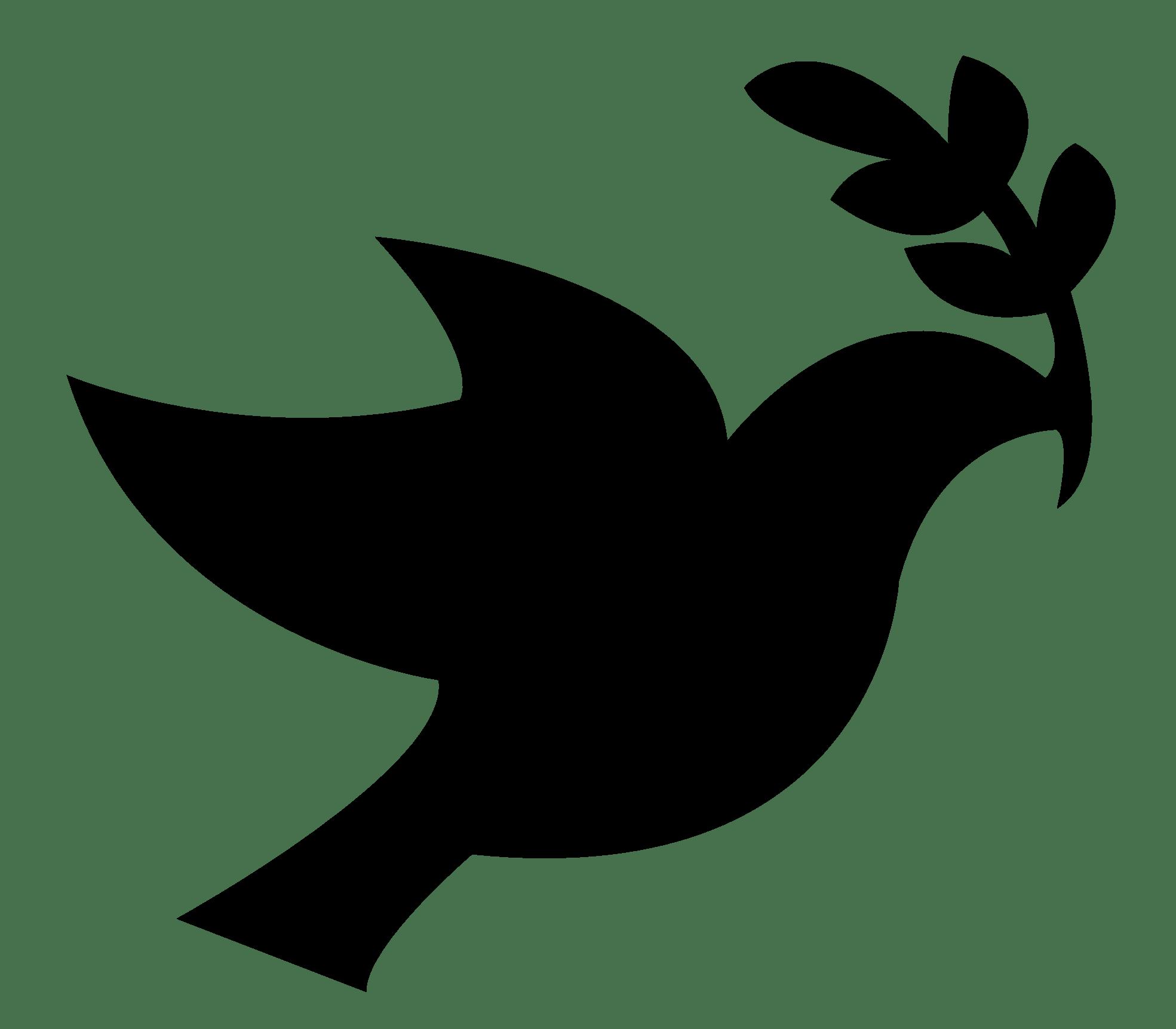 Peace dove png stickpng. Doves clipart transparent background