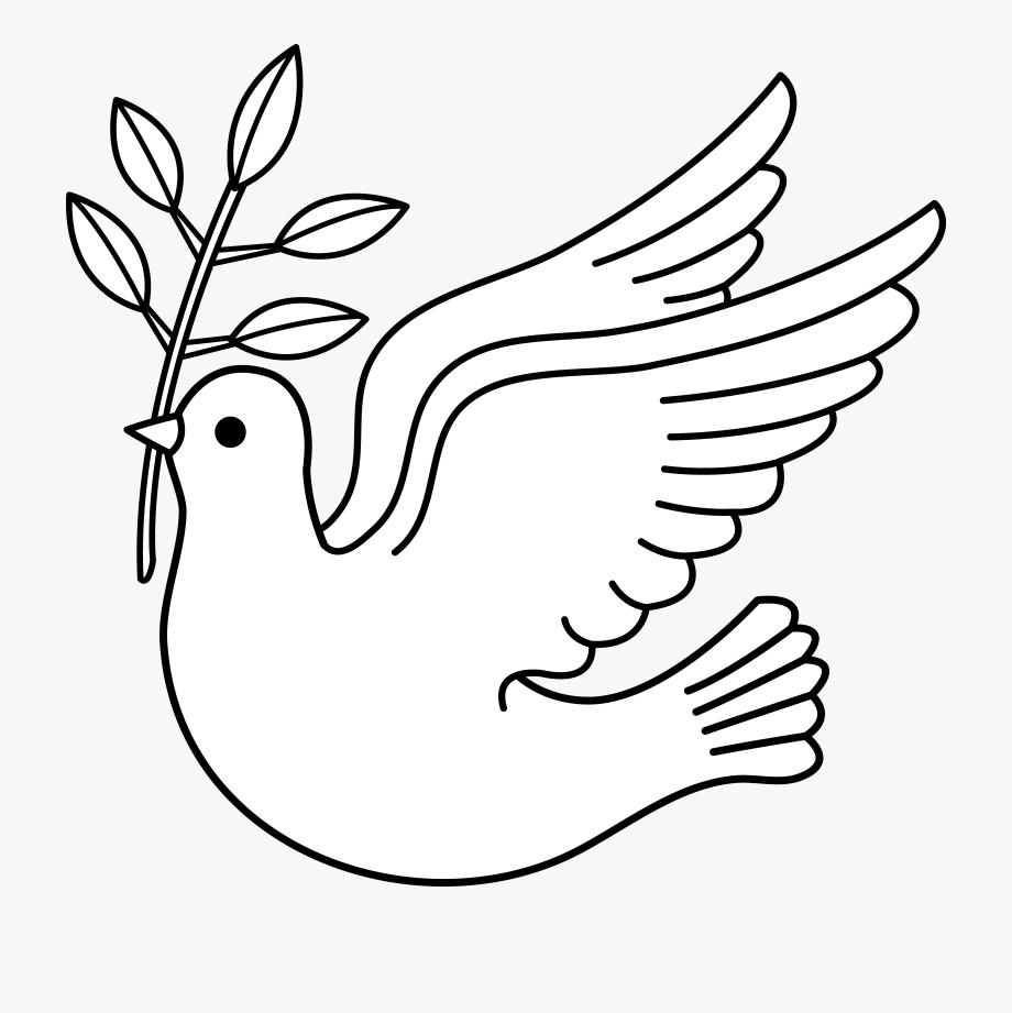 Peace clipart symbolism. Dove xmas free