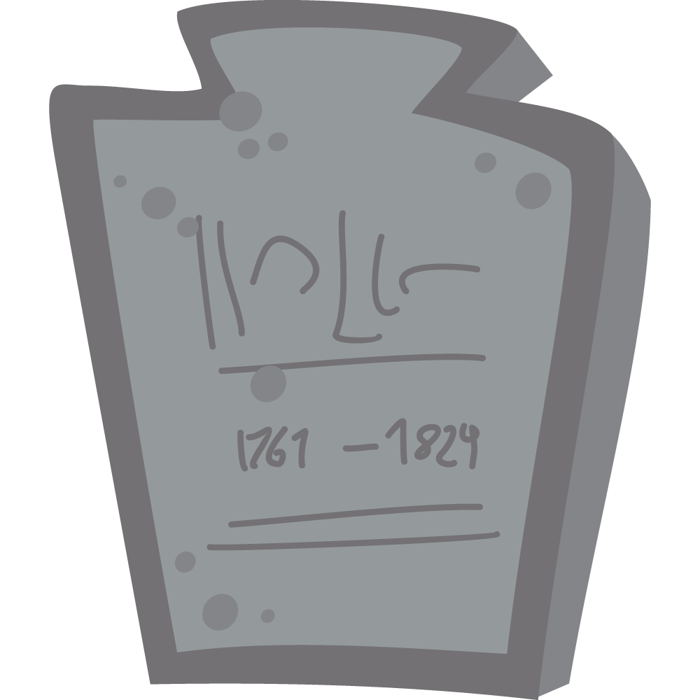 Free tombstone page of. Headstone clipart bird