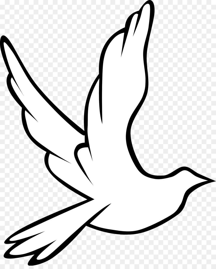 Doves clipart hope. Black and white flower