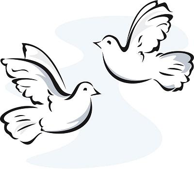 Doves clipart in flight. Flying station