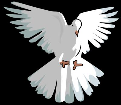 Free dove clip art. Doves clipart open wing
