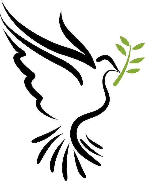 Holy spirit dove panda. Doves clipart spiritual