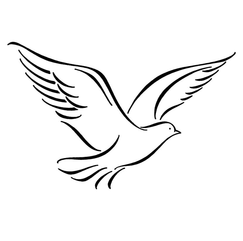 Free download clip art. Doves clipart transparent background
