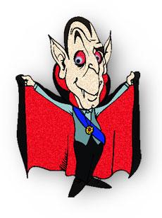 Free gifs . Vampire clipart animated