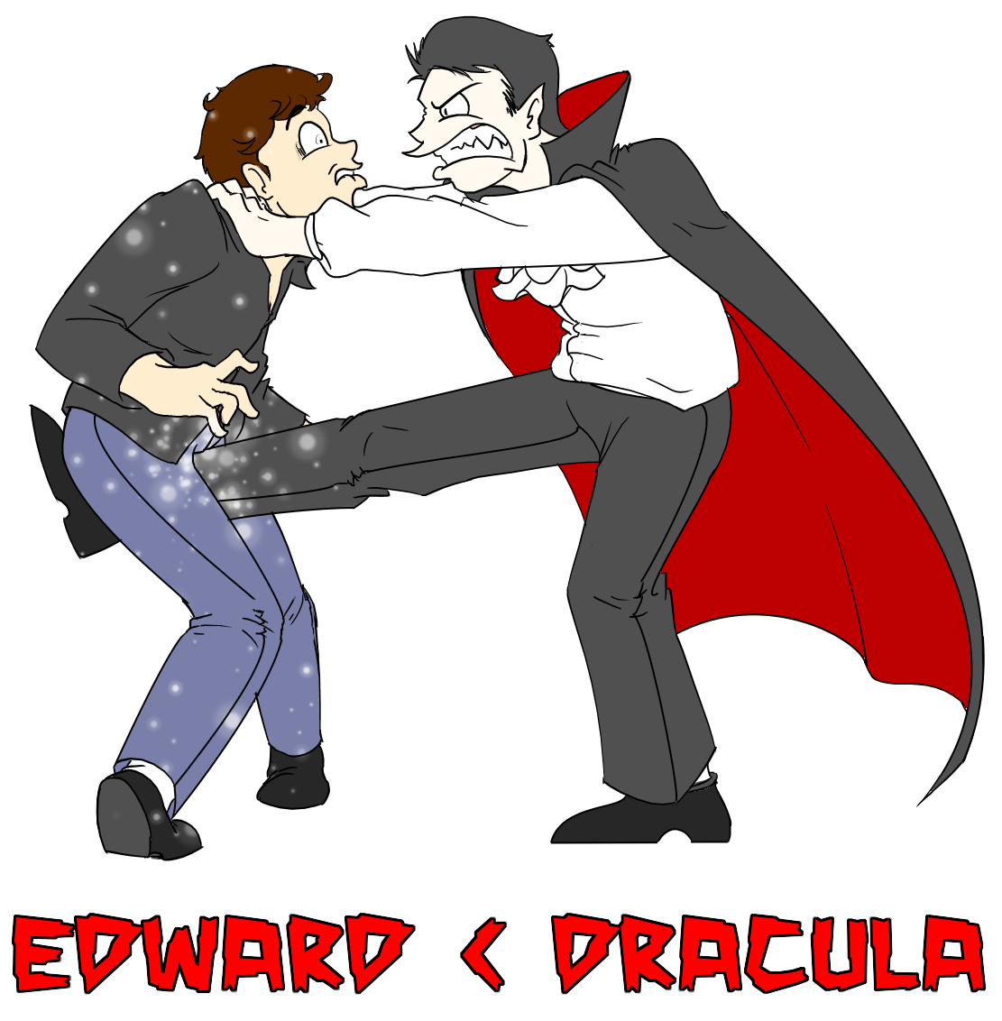 Edward vs by sprech. Dracula clipart baby count