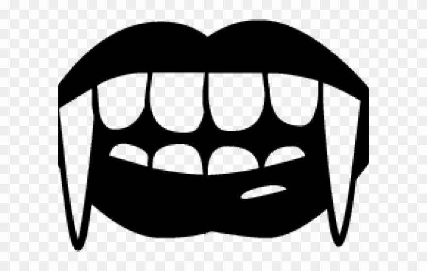 Fangs vampire diaries teeth. Dracula clipart dracula tooth