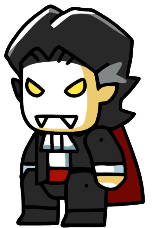Dracula clipart female. Vampire scribblenauts wiki fandom