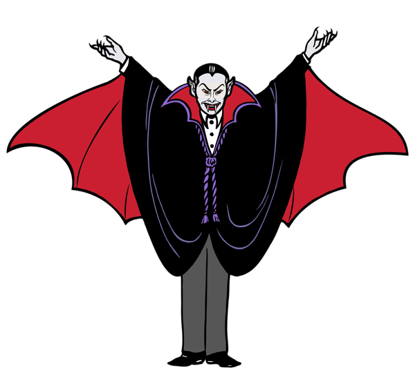vampire clipart spooky bat